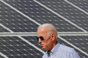 Green-Energy Shares Rise Along With Joe Biden Polling