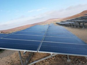 Microgrid power solution delivered to Peruvian copper mine