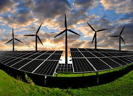 Year-to-date, solar and wind electricity grew faster than natural gas in the U.S.