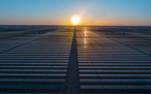 Saudi Arabia's First Utility Scale Renewable Energy Project